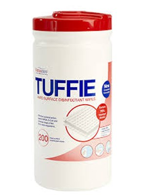 Tuffie IPA Surface Wipes 200's