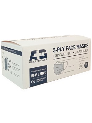 Surgical Face Mask Level 2R 3ply BFE - Box/50