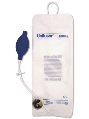 UNIFUSOR PRESS/INFUSION BAG 1000mL DISPO