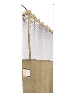 CURTAINS DISP 4.5m X 2.3m LATTE - Box/8