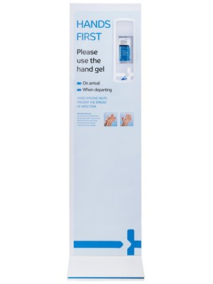 Hand Hygiene Display Double Sided Stand