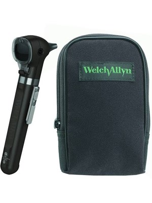 Welch Allyn Pocket Plus LED Otoscope with Soft Case, Onyx