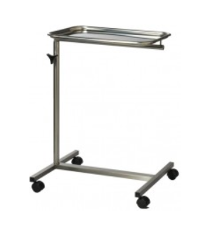 Mayo Stainless Steel Instrument Trolley - 2 Leg Base
