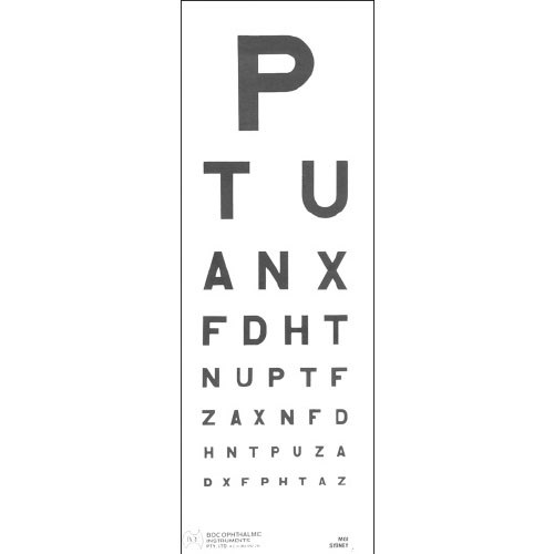 Eye Chart BUH Direct 6m