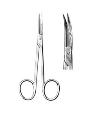 SCISSORS IRIS CURVED 11cm