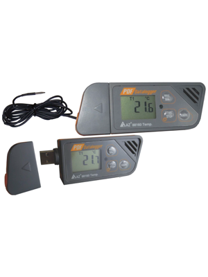 Temperature Data Logger Model 88161- No Software Required