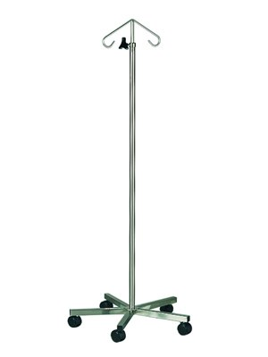 IV STAND 2-PRONG TELESCOPIC