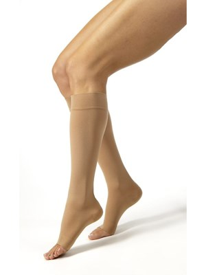 JOBST Relief Knee High Open Toe Socks 15-20mmHg - Small